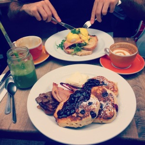 Brunch at the Ground Coffee Society