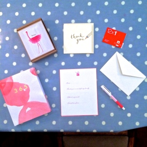 Alice Frances Letter Writing