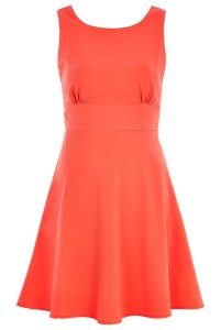 Karen Millen Orange Mini Dress