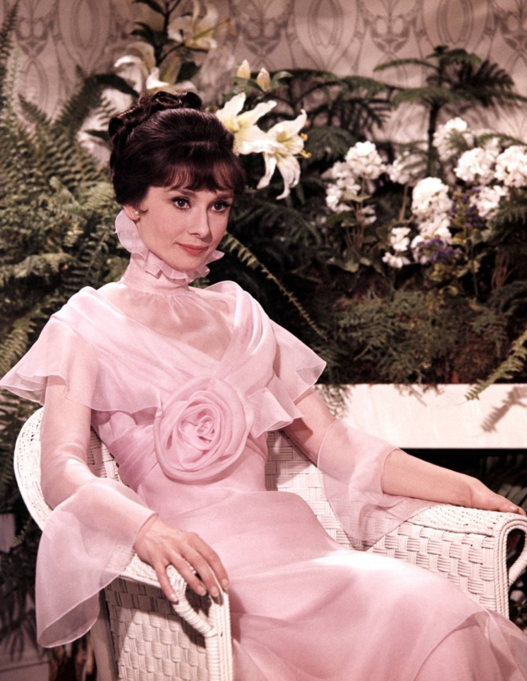 Audrey Hepburn as Eliza Doolittle in My Fair Lady